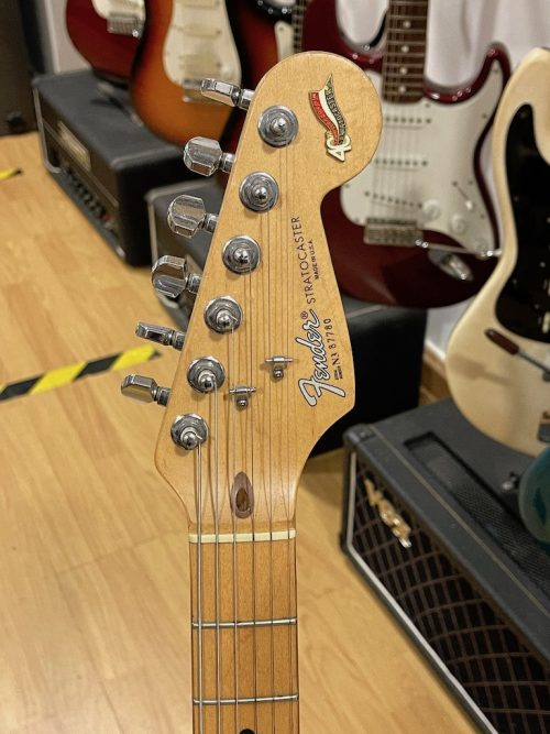 Fender Stratocaster Made In USA 40th Anniversary