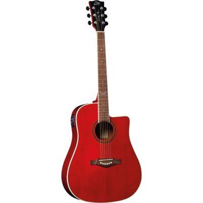 Eko Guitars NXT D100ce See Through Red