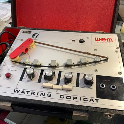 Wem Watkins Copicat Tape Delay A Nastro Anni 70