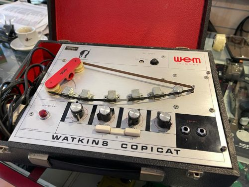 Wem Watkins Copicat Tape Delay A Nastro Anni 70