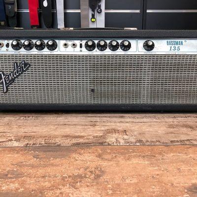 Fender Bassman 135 Silverface 70's