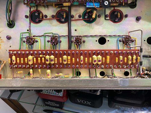 Hiwatt 504 Custom 50 1977 Testata Vintage