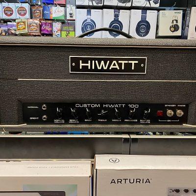 Hiwatt DR 103 100 Watt Testata 1981