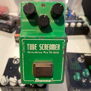 Ibanez Ts808 Tube Screamer Malaysia Chip 1980