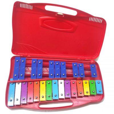 Alysée Metallofono MT25-C-RD cromatico 25 note - rosso