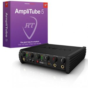 IK Multimedia AXE I/O Solo + AmpltiTube 5