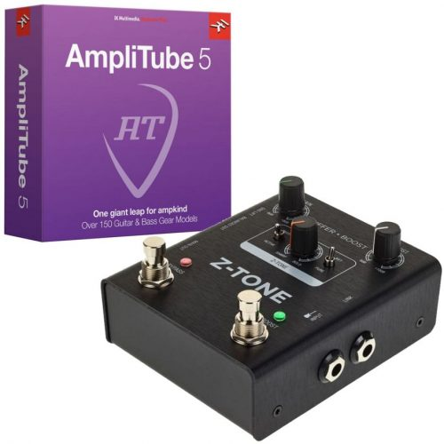 IK Multimedia Z-TONE Buffer Boost + AmpliTube 5