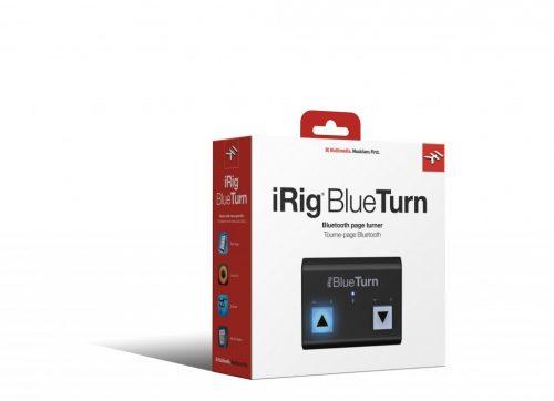IK Multimedia iRig BlueTurn Gira Pagine Bluetooth