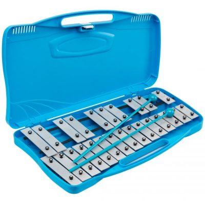 Alysée Metallofono MT25-CR-BL cromatico 25 note - blu