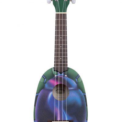 Kala KA-NV-BTLE - Ukulele soprano Blue Beetle - c/borsa