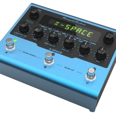 IK Multimedia X-SPACE - Pedale riverbero per strumento