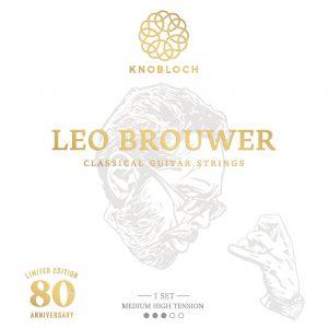 KNOBLOCH LEO BROUWER MEDIUM-HIGH TENSION 400LB