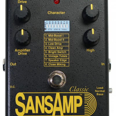 Tech21 SANSAMP CLASSIC - Preamplificatore a pedale