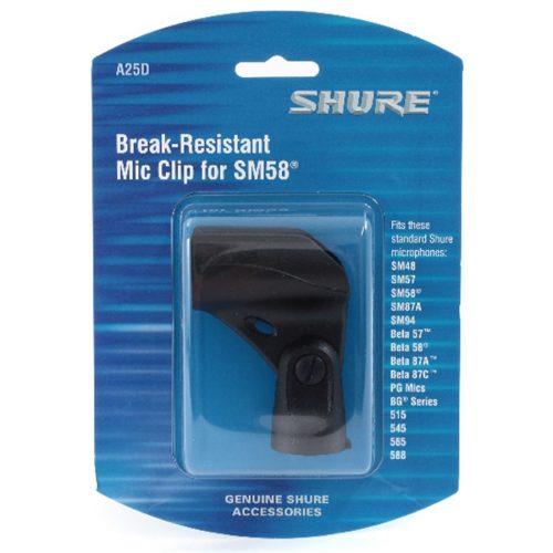Shure A25D Morsetto da asta microfoni diametro 3/4